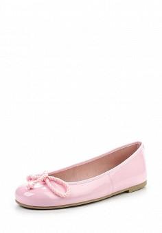 Балетки, Pretty Ballerinas, цвет: розовый. Артикул: PR758AWRHD47. Премиум / Обувь / Балетки