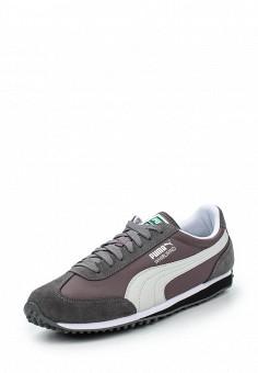 Кроссовки, Puma, цвет: серый. Артикул: PU053AUQOX10. Женская обувь / Кроссовки и кеды / Кроссовки