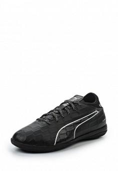 Бутсы, Puma, цвет: черный. Артикул: PU053AUQOX58. Женская обувь / Кроссовки и кеды / Кроссовки