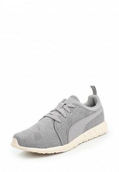 Кроссовки, Puma, цвет: серый. Артикул: PU053AUQOZ13. Женская обувь / Кроссовки и кеды / Кроссовки
