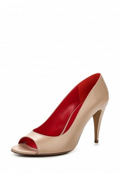 Туфли, Pura Lopez, цвет: бежевый. Артикул: PU761AWQLR48. Премиум / Обувь / Туфли