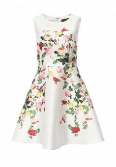 Платье, QED London, цвет: белый. Артикул: QE001EWIVZ30. Женская одежда / Платья и сарафаны / Летние платья
