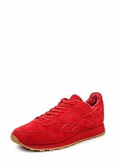 Кроссовки, Reebok Classics, цвет: красный. Артикул: RE005AUQJI53. Женская обувь / Кроссовки и кеды / Кроссовки