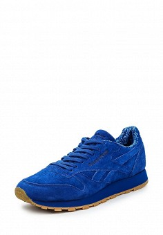 Кроссовки, Reebok Classics, цвет: синий. Артикул: RE005AUQJI54. Женская обувь / Кроссовки и кеды / Кроссовки