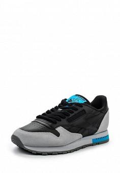 Кроссовки, Reebok Classics, цвет: черный. Артикул: RE005AUQJI56. Женская обувь / Кроссовки и кеды / Кроссовки
