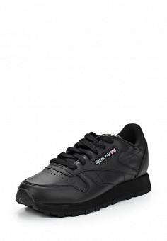 Кроссовки, Reebok Classics, цвет: черный. Артикул: RE005AWBJX44. Женская обувь / Кроссовки и кеды / Кроссовки