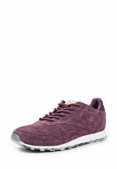 Кроссовки, Reebok Classics, цвет: фиолетовый. Артикул: RE005AWQJI75. Женская обувь / Кроссовки и кеды / Кроссовки