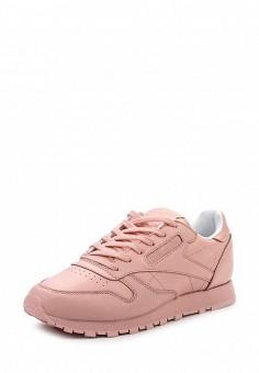 Кроссовки, Reebok Classics, цвет: розовый. Артикул: RE005AWQJI85. Женская обувь / Кроссовки и кеды / Кроссовки