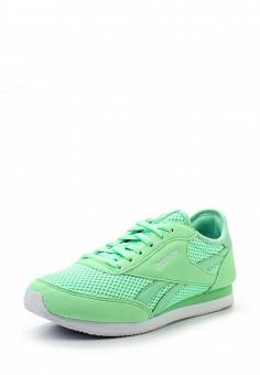 Кроссовки, Reebok Classics, цвет: зеленый. Артикул: RE005AWQJI94. Женская обувь / Кроссовки и кеды / Кроссовки