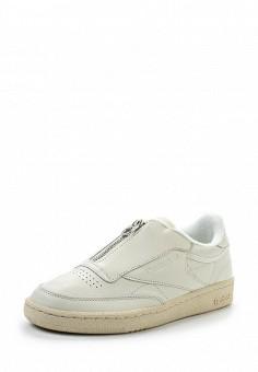 Кроссовки, Reebok Classics, цвет: белый. Артикул: RE005AWUOZ47. Женская обувь / Кроссовки и кеды / Кроссовки