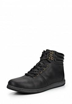 Ботинки, Reflex, цвет: черный. Артикул: RE024AMDMV38. Мужская обувь / Ботинки и сапоги