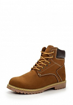 Ботинки, Reflex, цвет: коричневый. Артикул: RE024AMGPG03. Мужская обувь / Ботинки и сапоги
