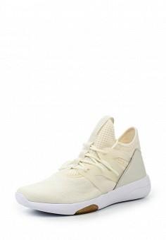 Кроссовки, Reebok, цвет: бежевый. Артикул: RE160AWQJV59. Женская обувь / Кроссовки и кеды