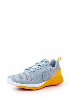 Кроссовки, Reebok, цвет: голубой. Артикул: RE160AWQJV63. Женская обувь / Кроссовки и кеды