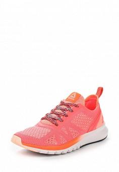 Кроссовки, Reebok, цвет: розовый. Артикул: RE160AWUPR28. Женская обувь / Кроссовки и кеды