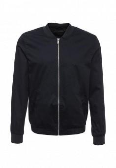 Куртка, River Island, цвет: синий. Артикул: RI004EMKLR33. Мужская одежда / Верхняя одежда