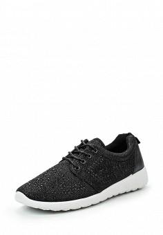 Кроссовки, Rio Fiore, цвет: черный. Артикул: RI033AWRLS79. Женская обувь / Кроссовки и кеды / Кроссовки