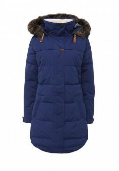 Куртка утепленная, Roxy, цвет: синий. Артикул: RO165EWKCF37. Женская одежда / Верхняя одежда / Пуховики и зимние куртки