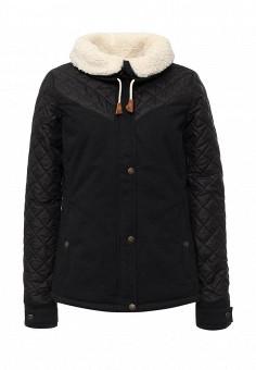 Куртка утепленная, Roxy, цвет: синий. Артикул: RO165EWKCF53. Женская одежда / Верхняя одежда / Пуховики и зимние куртки