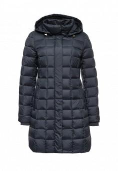 Пуховик, Savage, цвет: синий. Артикул: SA004EWLPC56. Женская одежда / Верхняя одежда / Пуховики и зимние куртки