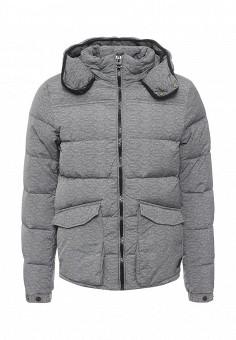 Пуховик, Scotch&Soda, цвет: серый. Артикул: SC378EMNFJ27. Мужская одежда / Верхняя одежда / Пуховики и зимние куртки