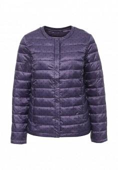 Куртка утепленная, Sela, цвет: фиолетовый. Артикул: SE001EWOPZ33. Женская одежда / Верхняя одежда / Демисезонные куртки