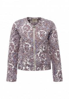 Куртка утепленная, Sela, цвет: мультиколор. Артикул: SE001EWOPZ34. Женская одежда / Верхняя одежда / Демисезонные куртки