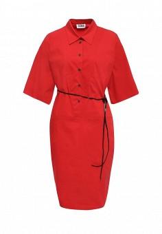 Платье, Sonia by Sonia Rykiel, цвет: красный. Артикул: SO018EWRIU45. Женская одежда / Платья и сарафаны / Летние платья