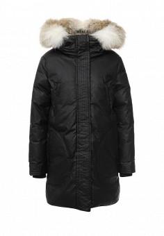 Пуховик, Soia & Kyo, цвет: черный. Артикул: SO036EWLZL42. Женская одежда / Верхняя одежда / Пуховики и зимние куртки
