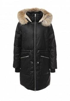Пуховик, Soia & Kyo, цвет: черный. Артикул: SO036EWLZL44. Женская одежда / Верхняя одежда / Пуховики и зимние куртки