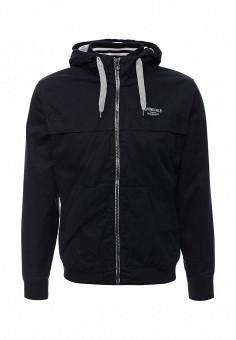 Куртка утепленная, Springfield, цвет: синий. Артикул: SP014EMKMA59. Мужская одежда / Верхняя одежда