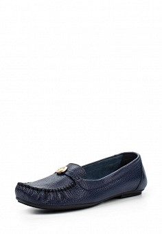 Мокасины, Спартак, цвет: синий. Артикул: SP025AWQSA43. Женская обувь / Мокасины и топсайдеры