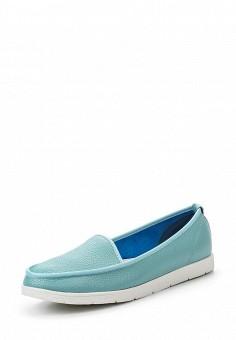 Мокасины, Sparkling, цвет: мятный. Артикул: SP315AWSBW79. Женская обувь / Мокасины и топсайдеры