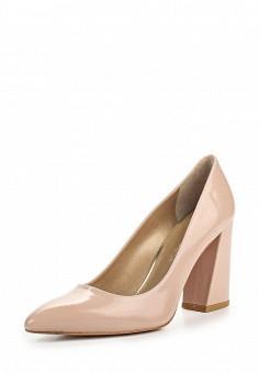 Туфли, Stuart Weitzman, цвет: бежевый. Артикул: ST001AWOWP29. Премиум / Обувь / Туфли