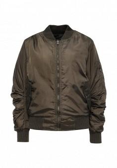 Куртка утепленная, Stella Morgan, цвет: хаки. Артикул: ST045EWQXT64. Женская одежда / Верхняя одежда / Демисезонные куртки