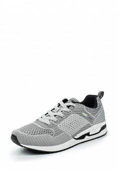 Кроссовки, Strobbs, цвет: серый. Артикул: ST979AMSFE17. Мужская обувь / Кроссовки и кеды / Кроссовки