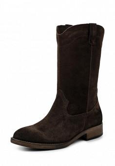 Полусапоги, Tamaris, цвет: коричневый. Артикул: TA171AWJNC11. Женская обувь / Сапоги