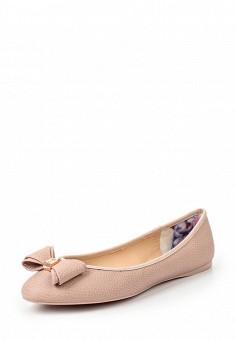 Балетки, Ted Baker London, цвет: розовый. Артикул: TE019AWQLR58. Премиум / Обувь / Балетки