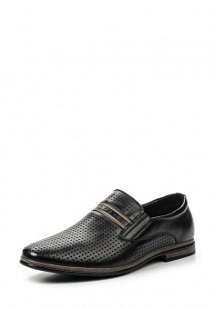 Лоферы, Tesoro, цвет: черный. Артикул: TE947AMQCH05. Мужская обувь / Туфли / Лоферы
