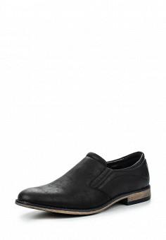 Лоферы, Tesoro, цвет: черный. Артикул: TE947AMQCI31. Мужская обувь / Туфли / Лоферы