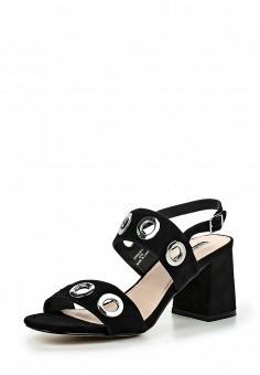 Босоножки, Topshop, цвет: черный. Артикул: TO029AWJDG87. Женская обувь / Босоножки