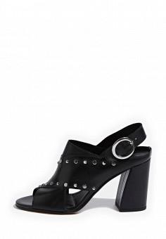Босоножки, Topshop, цвет: черный. Артикул: TO029AWRUN54. Женская обувь / Босоножки