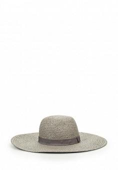 Шляпа, Topshop, цвет: серый. Артикул: TO029CWJEX44. Женские аксессуары / Головные уборы / Шляпы