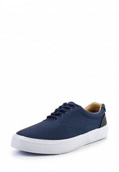 Кеды, Topman, цвет: синий. Артикул: TO030AMTWB73. Мужская обувь / Кроссовки и кеды
