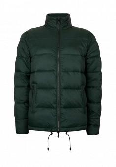 Куртка утепленная, Topman, цвет: зеленый. Артикул: TO030EMNTZ43. Мужская одежда / Верхняя одежда