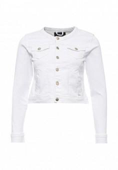 Куртка джинсовая, Top Secret, цвет: белый. Артикул: TO795EWRWH54. Женская одежда / Тренды сезона / Летний деним / Джинсовые куртки