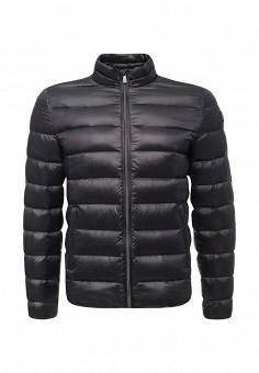 Пуховик, Trussardi Jeans, цвет: серый. Артикул: TR016EMUWE38. Мужская одежда / Верхняя одежда / Пуховики и зимние куртки