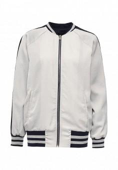 Куртка, Trussardi Jeans, цвет: белый. Артикул: TR016EWOOP56. Женская одежда
