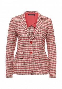 Жакет, Trussardi Jeans, цвет: коралловый. Артикул: TR016EWOOP64. Женская одежда