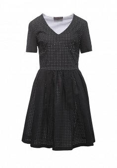 Платье, Trussardi Jeans, цвет: черный. Артикул: TR016EWOOP75. Женская одежда